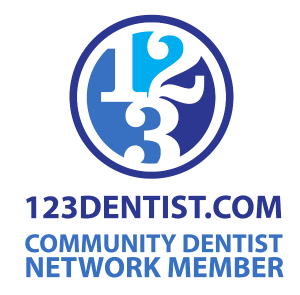 123 Dentist Community Dentist Network Logo